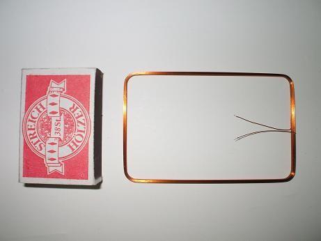 RFID Rechteckspule 54 x 85mm 470µH