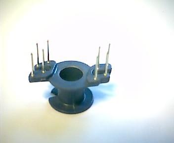 RM5 Spulenkörper, 1 Kammer, 8 Pins