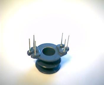 RM5 Spulenkörper, 2 Kammern, 6 Pins