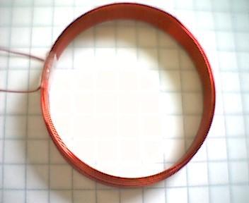 RFID Transponderspule 35mm, 1000µH, 3mm Breite
