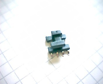 E 8.8 SMD Spulenkörper, liegend, 8-polig, 1 Kammer