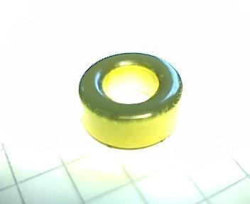 Eisenpulverringkern 12mm T50-6, AL4, gelb-klar