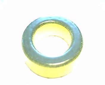 Eisenpulverringkern 33mm T130-6, AL9,6, gelb-klar