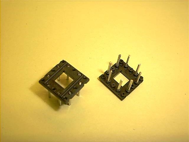 Montageplatte, 12,4x12,4 mm, 8 Pins