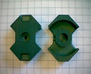 RM10 Kernsatz N48, mit Luftspalt 0,21mm, AL400