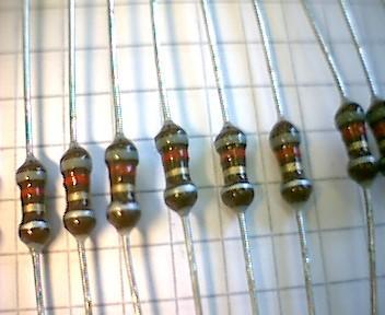 HF-Entstördrossel, 100 µH 600 mA, 10 Stück