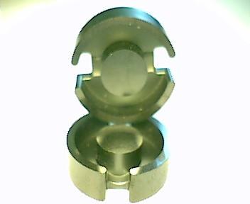 P26x16 Schalenkernsatz T38, ohne Luftspalt, AL 22000