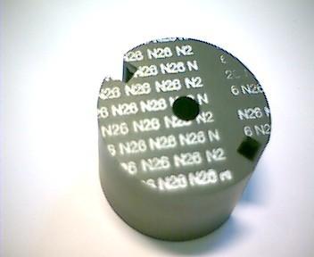 P30x19 Schalenkernsatz N26, mit Luftspalt 0,05 mm, AL 2000