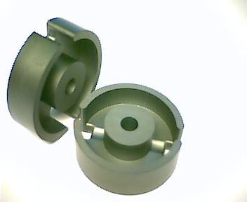 P30x19 Schalenkernsatz N48, mit Luftspalt 0,4 mm, AL 400