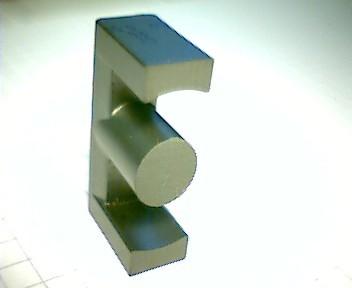 ETD 49 Kernhälfte GL27/N27, mit Luftspalt 0,5mm, AL525
