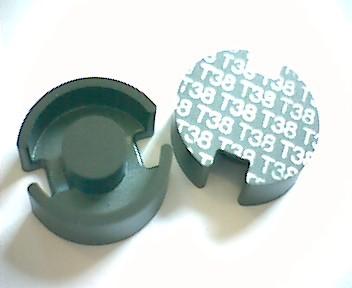 P18x11 Schalenkernsatz T38, ohne Luftspalt, AL 12600