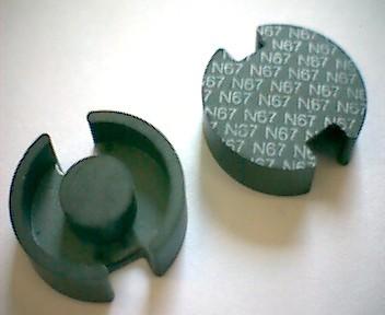P18x11 Schalenkernsatz N67, ohne Luftspalt, AL 3600
