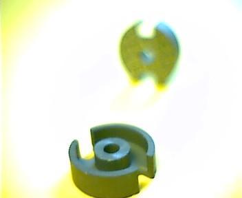 P11x7 Schalenkernsatz N48, mit Luftspalt 0,06 mm, AL 250