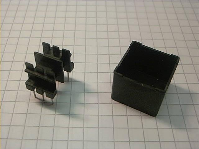EF 16 Spulenkörper, liegend, 6-polig, 2 Kammern