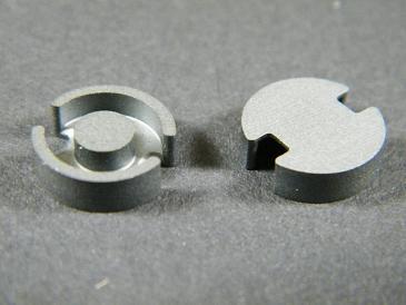 P11x7 Schalenkernsatz N67, ohne Luftspalt, AL 200