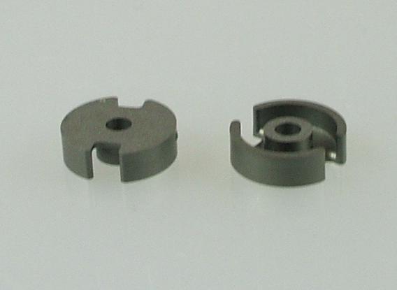 P9x5 Schalenkernsatz N26, mit Luftspalt 0,03 mm, AL 250