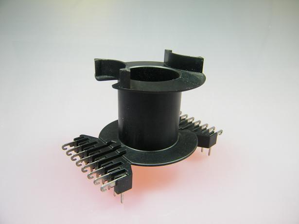 PM62/49 Spulenkörper, dual-in-line, 16-polig, 1 Kammer