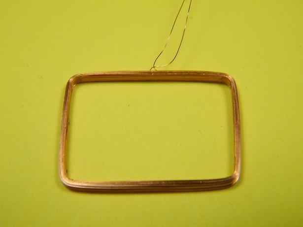RFID Transponderspule 16 x 23,5mm, 570µH