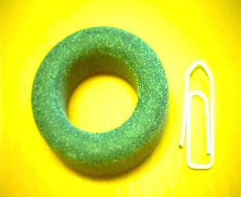 Ferrit-Ringkern 30mm N27 AL2800, grau
