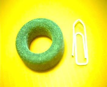 Ferrit-Ringkern 25mm N27, AL2200, grau