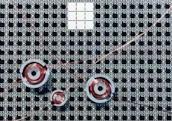 Schalenkern-Sensorspule, P 3,3x1,3, K1, 80 µH