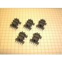 EF 12.6 SMD Spulenkörper, liegend, 10-polig, 2 Kammern