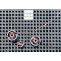 Schalenkern-Sensorspule, P 3,3x1,3, K1, 40 µH