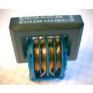 D-Kern-Netzdrossel, 10 mH 2,6 A, stromkompensiert, stehend