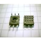 SMD-Montageplatte, 7 x 7 mm, 2 x 3 Pins