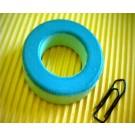 Eisenpulverringkern 38mm T150-52, AL89, grün-blau