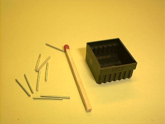 Potting box, horizontal, 18x20,5x10,5 mm for 14 pins