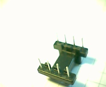 EFD 15 Coil former, 8 pins, 1 section