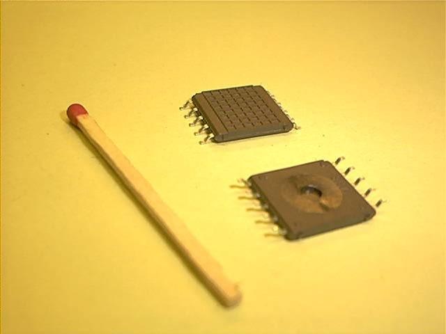 SMD-Montageplatte, 13 x 13 mm, 2 x 5 Pins