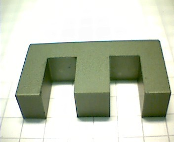 E 25 (EF 25) Kernhälfte N27,  mit Luftspalt 0,1mm, AL489