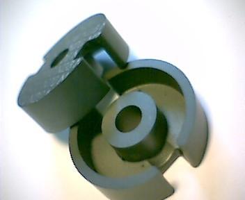 P22x13 Schalenkernsatz N26, mit Luftspalt 0,05 mm, AL 1250