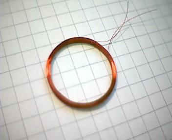 RFID Transponderspule 19,5mm, 470µH
