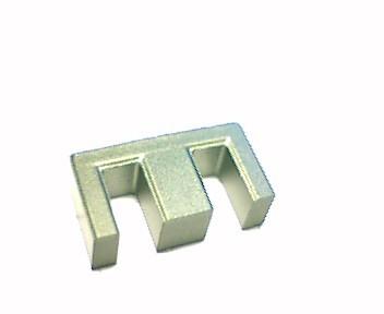 E 16 (EF 16) Kernhälfte N87, mit Luftspalt 0,1mm, AL210