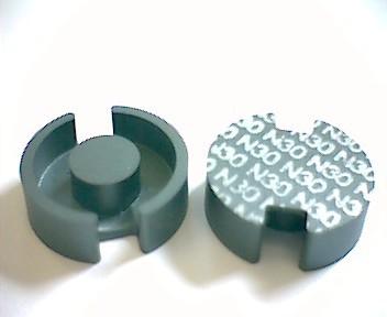 P18x11 Schalenkernsatz N30, ohne Luftspalt, AL 5900