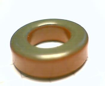 Eisenpulverringkern 17mm T68-2, AL5,7, rot-klar