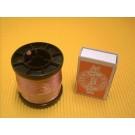 HF-Litze 120 x 0,1  mm, blank, 50 g-Spule