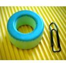 Eisenpulverringkern 27mm T106-52, AL95, grün-blau